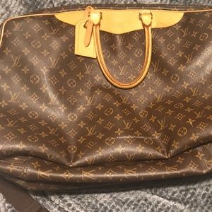 Louis Vuitton Alize Monogram Unisex Travel Bag